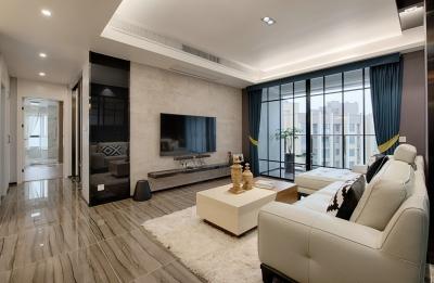 92㎡两室两厅现代轻奢住宅