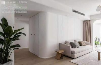 大白墙的现代简约风