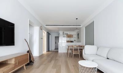 76㎡日式+北欧2室2厅,生活就是简单随性