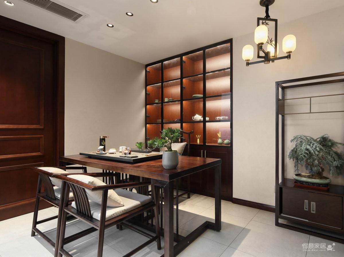 165平儒雅安静,处处精简又不失文化气息的住宅