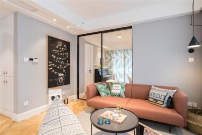 60平一室一厅现代简约风