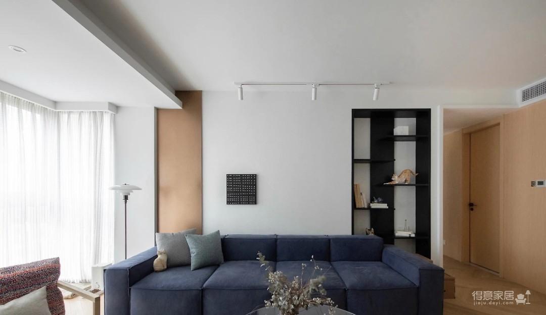 120㎡现代北欧3室2厅,邂逅不落俗套的理想生活