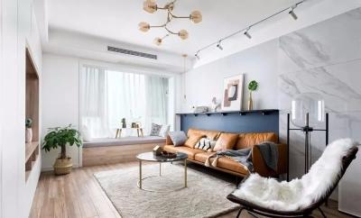 95小夫妻的75㎡小两居,现代北欧风格设计,好看又好住的小家!