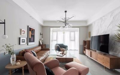145㎡舒适北欧4室2厅,诠释恰到好处的生活美学