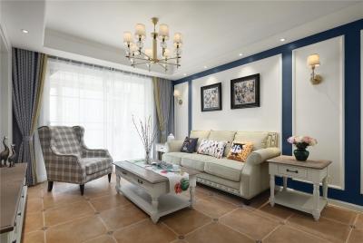 126平三室两厅现代美式风