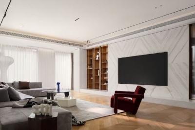450㎡别墅,法式古典与现代融合