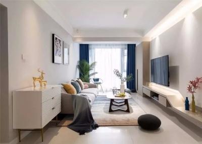 三代同堂的三室两厅,把90㎡装成120㎡的感觉,甩出邻居家5条街!