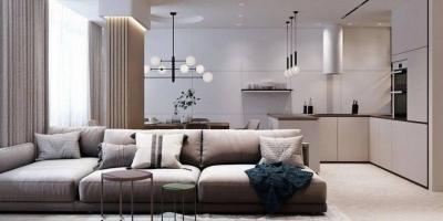 112㎡现代公寓,简约很有艺术性,让空间显得更为精致