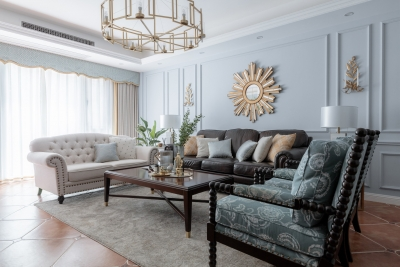 143平三室两厅现代美式