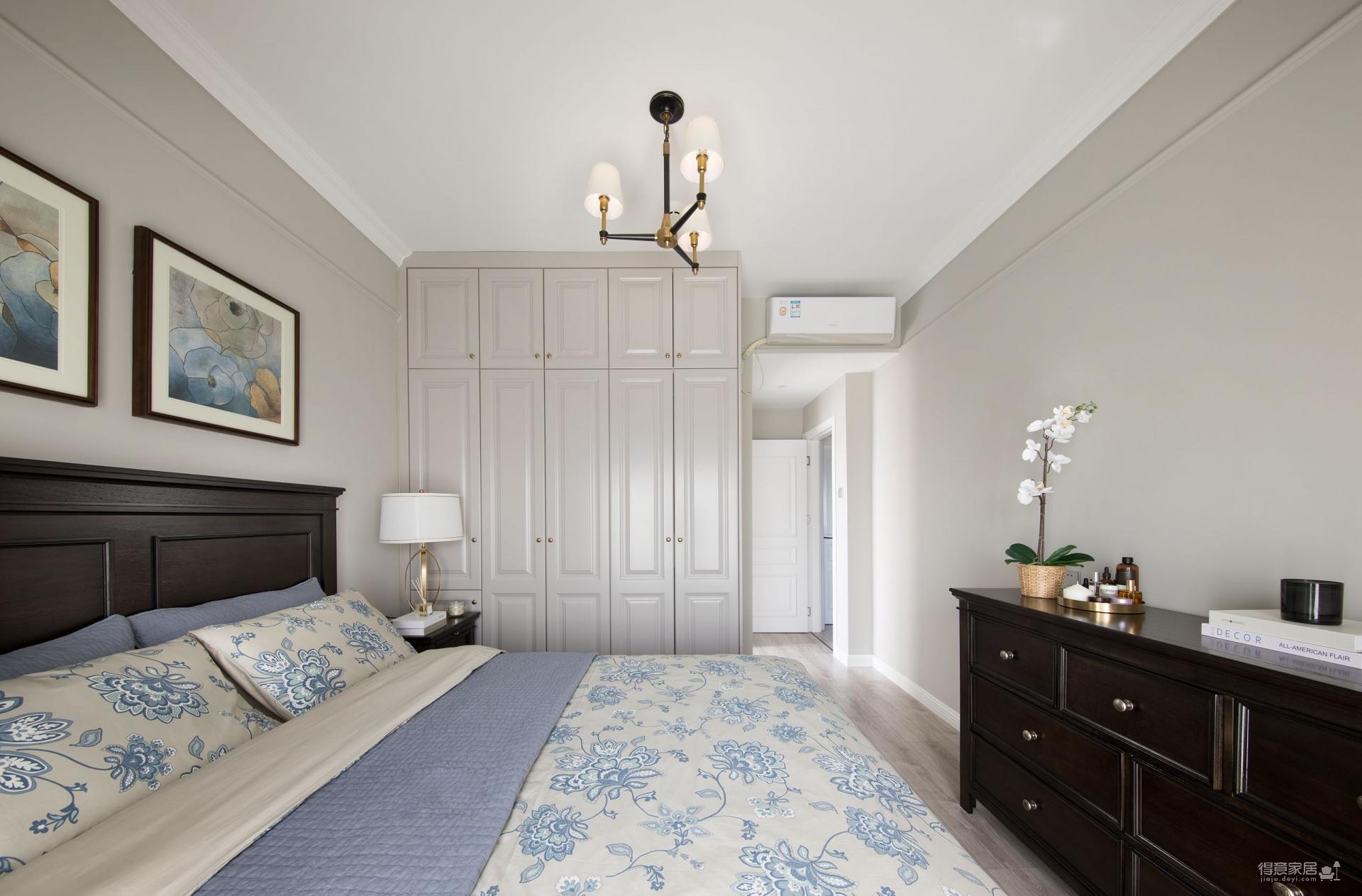 145平三室两厅现代美式图_11