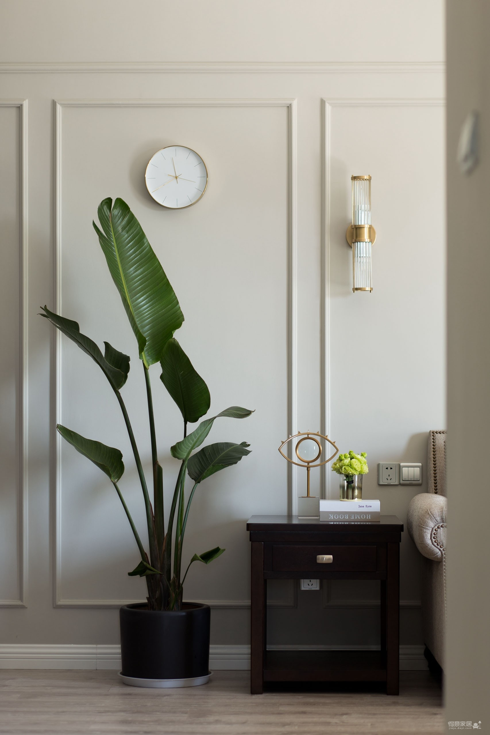 145平三室两厅现代美式图_8