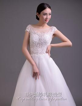 菲伊婚纱新娘造型