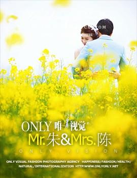 MR.朱& MRS.陈的幸福婚纱照