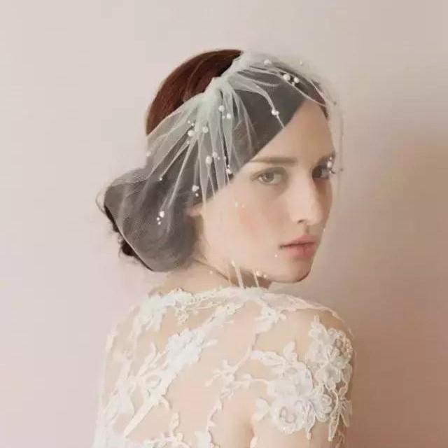 Chanel、Dior都参考的婚纱配饰
