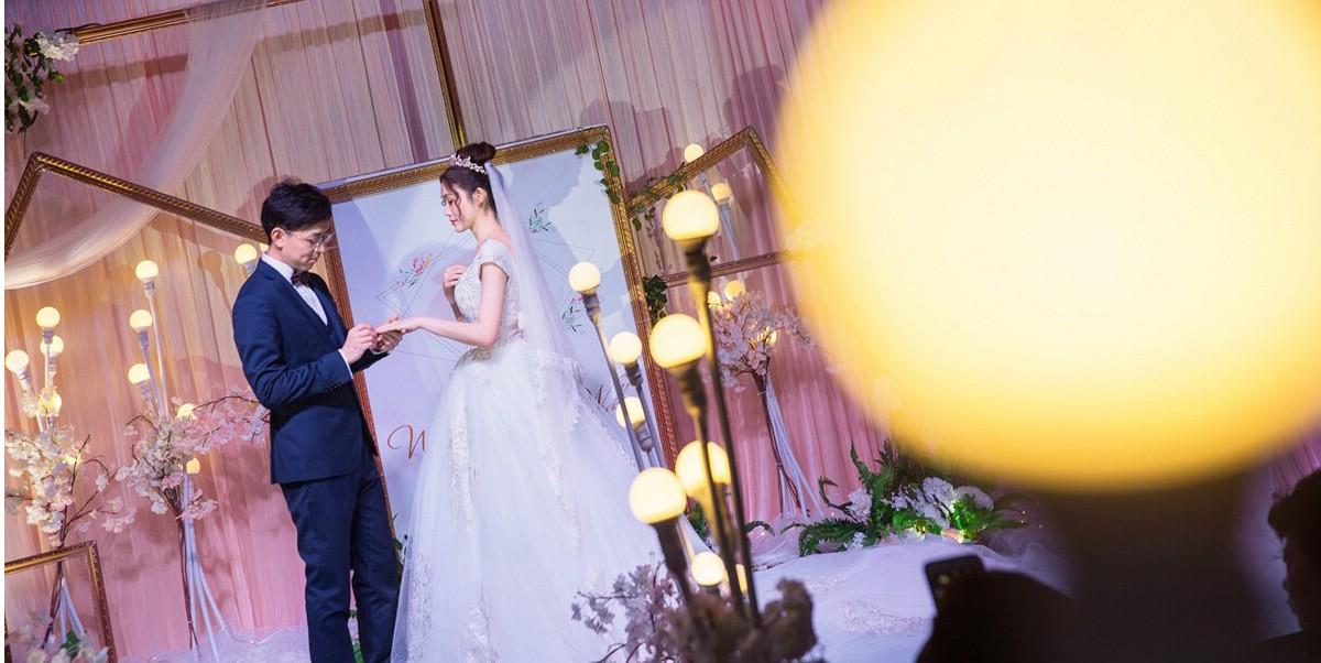 结婚当天的妆比试妆还要美!一生一次的选择果然没错!