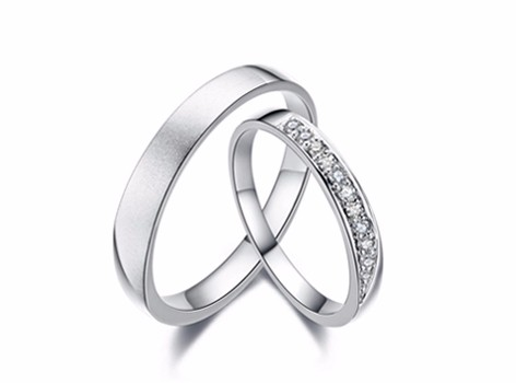 【谛珂珠宝】定情信物结婚戒指 定制对戒
