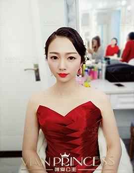 唯爱公主武汉新娘造型-花仙子