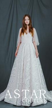 你们熟悉的创业美少女,带着ASTAR的六大婚礼礼服回来啦!