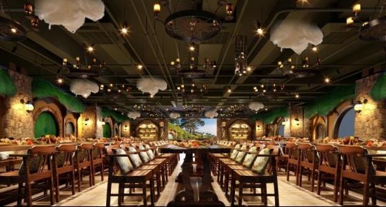 园博园会议中心丛林餐厅