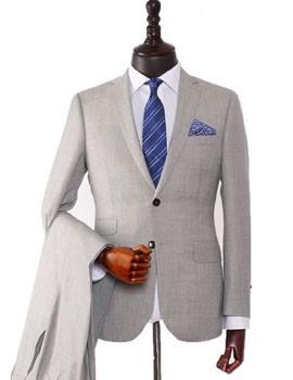 国产羊毛男士西服西装礼服定制