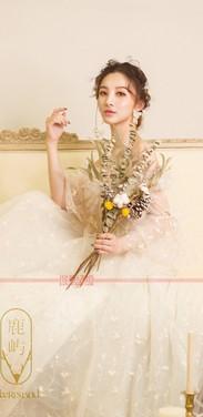 收集了超多超美的真人短发新娘造型,总能找到一款适合你的