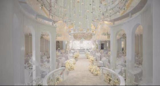 【谢先生餐厅光谷店】蝴蝶厅婚礼现场