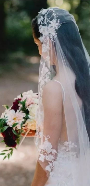 李宇春跨年头纱王冠,好看到词穷!不能错过的仙女头纱都在这里 | 备婚蜜书
