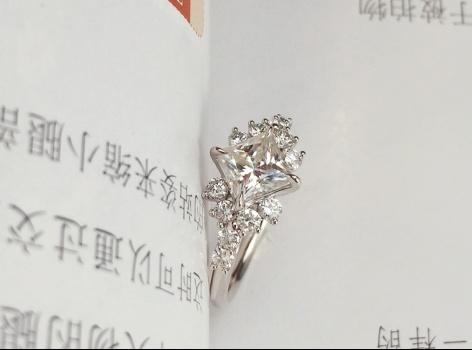 #客定款结婚对戒#——武汉婚戒定制