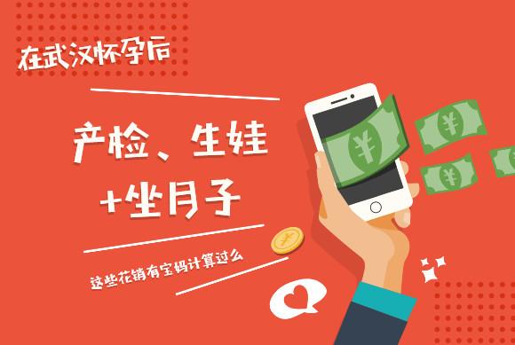 在武汉的产检费用+生娃+坐月子一共要花多少钱,有宝妈计算过吗?